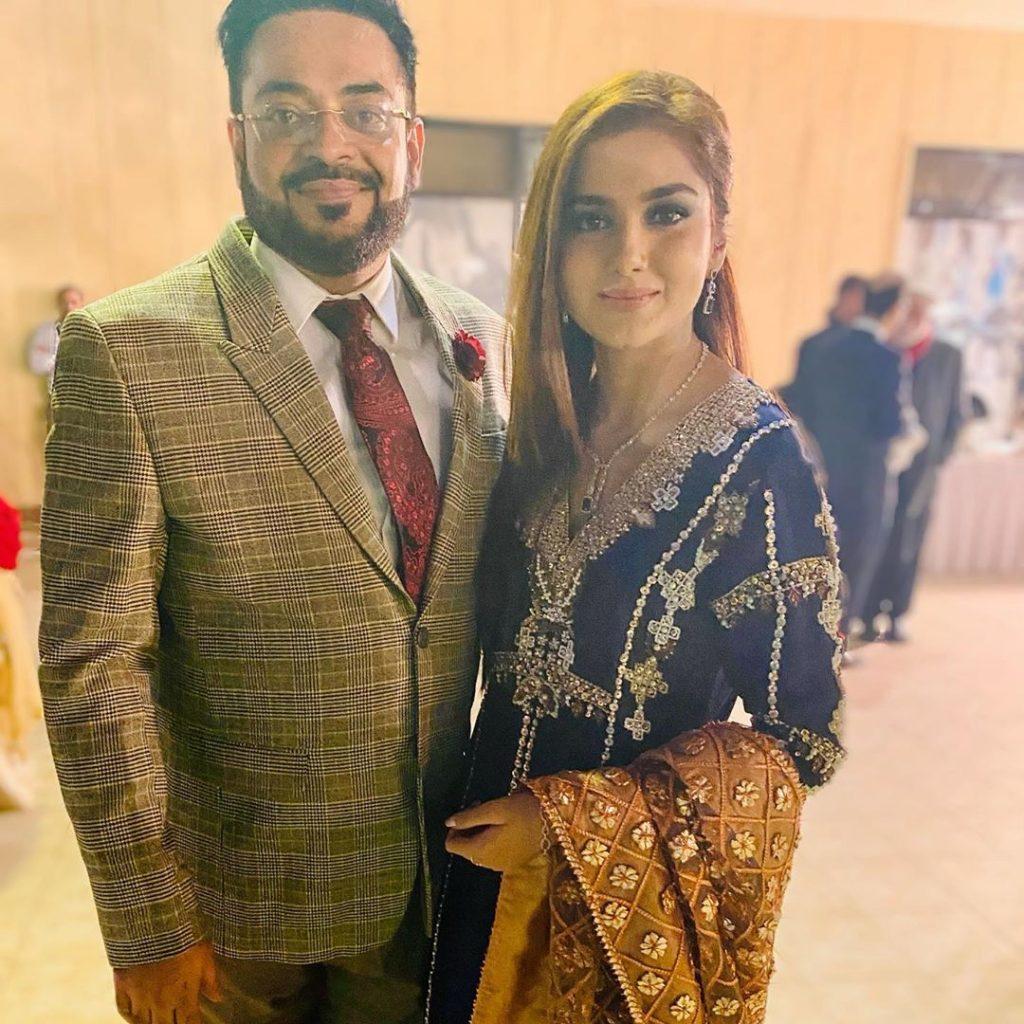 tuba aamir with her husband