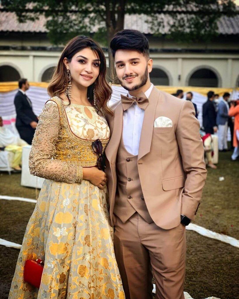 zoya nasir with shahveer jafry