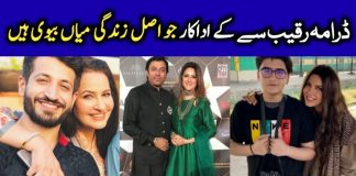 Meet Hum Tv Drama Raqeeb Se Cast with Real Names and Pics
