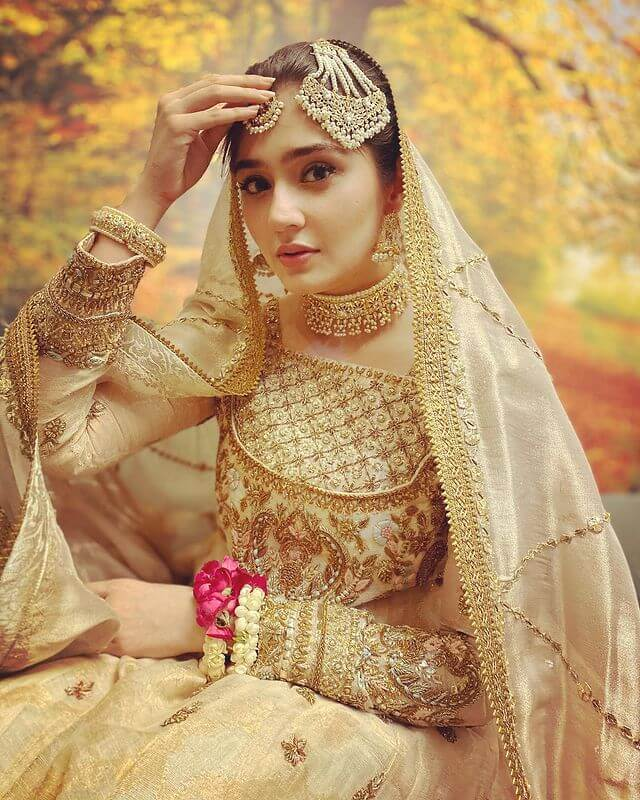 due-e-fishan saleem looks a stuning bride