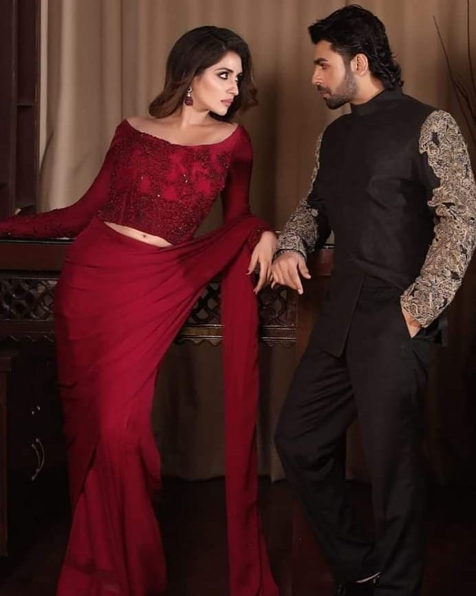 iman ali and farhan saeed