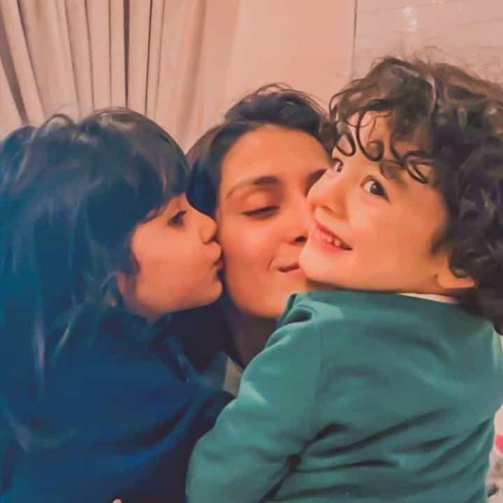 ayeza khan with her super kids