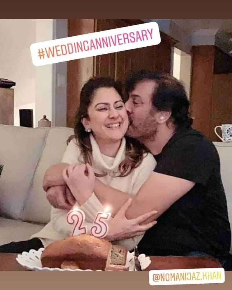 noman ijaz celebrates her 25th wedding anniversary
