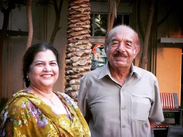 uzma hassan family photo