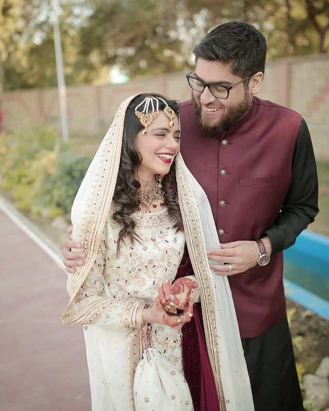 with her husband omar lala