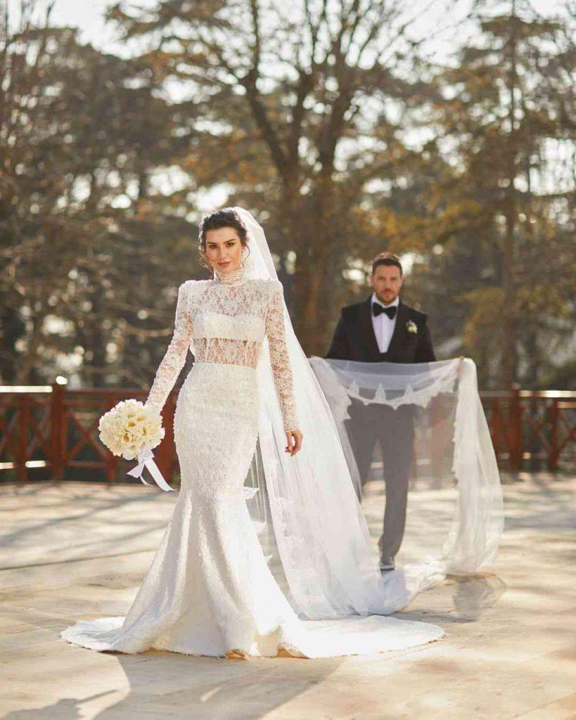 Burcu Kıratlı aka Gokce Hatun Wedding Pictures