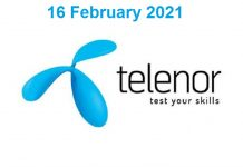 Telenor-Quiz-16-February-2021