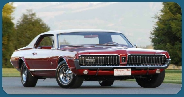 What Year was the First Mercury Cougar Made
