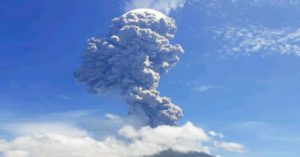 Which country has the most active volcanoes