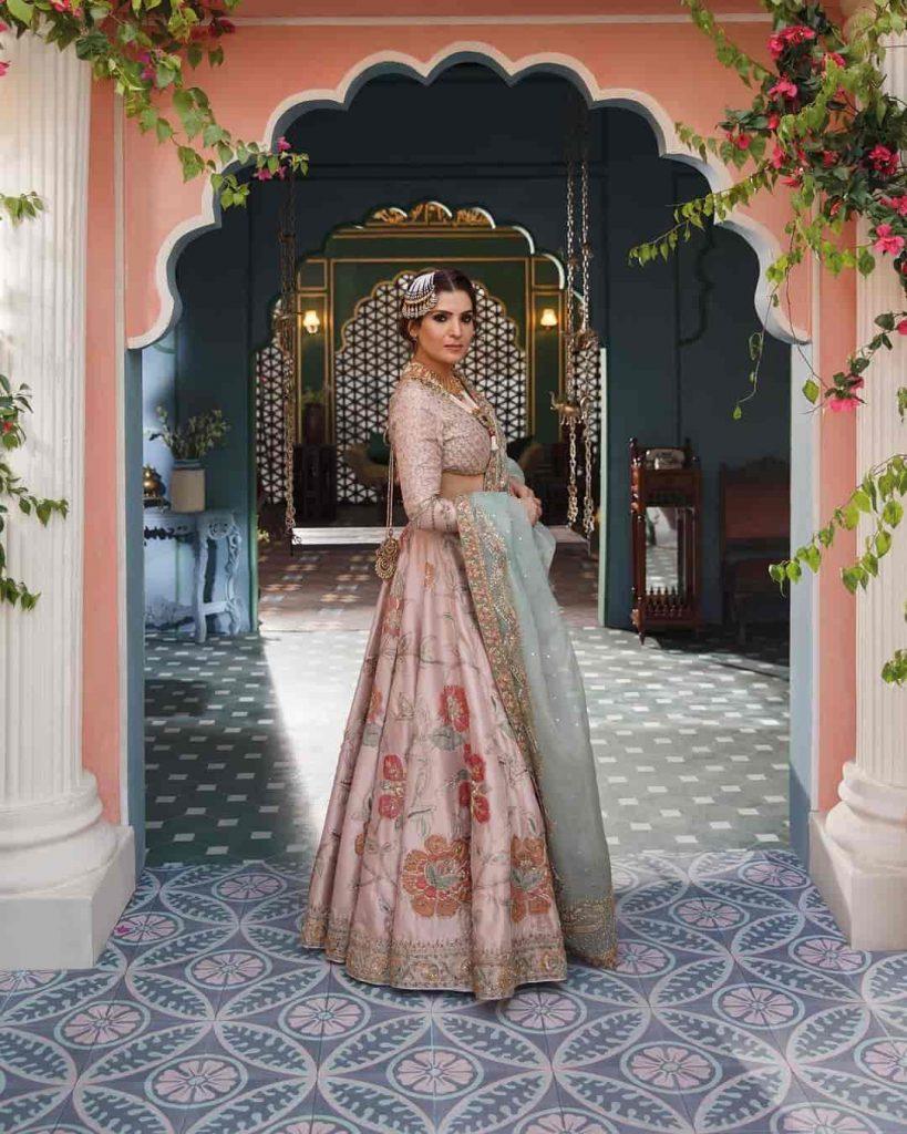 "Zara Shah Jahan's luxury bridal brand ""Ghazal 2021"""