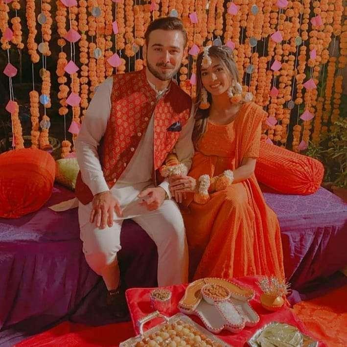 Sanam Jang sister Amna Jang wedding