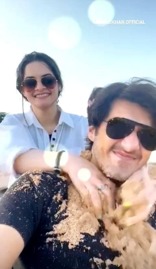 minal khan with ahsan mohsin (5)