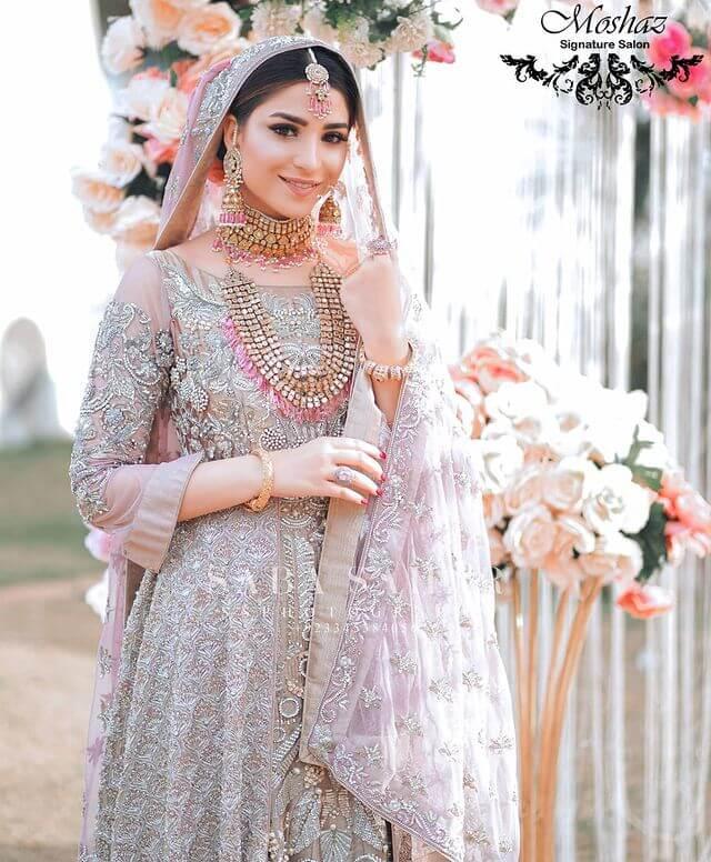 ramsha khan bridal look