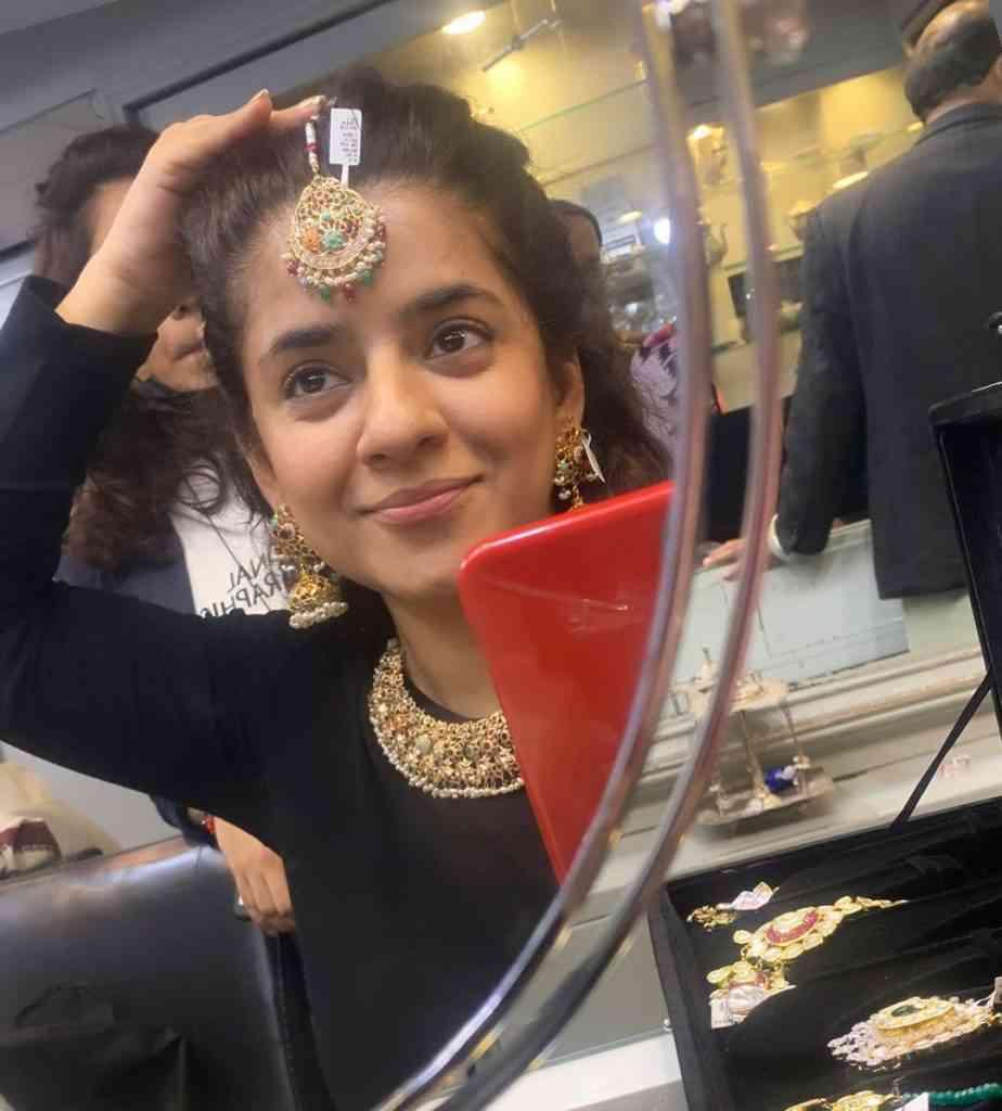 tv producer sadia jabbar tied the knot