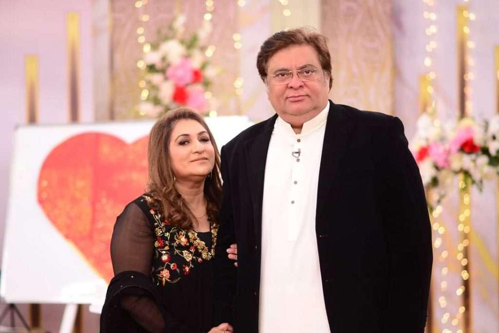 freeda shabir with her husband