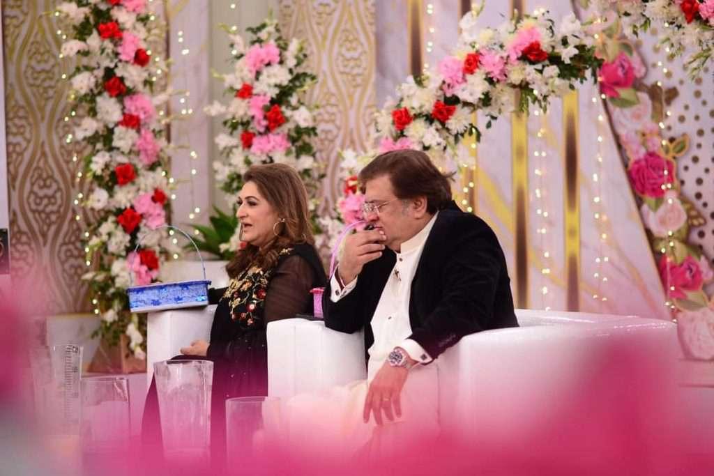 shabbir jan and fareeda shabbir in morning show