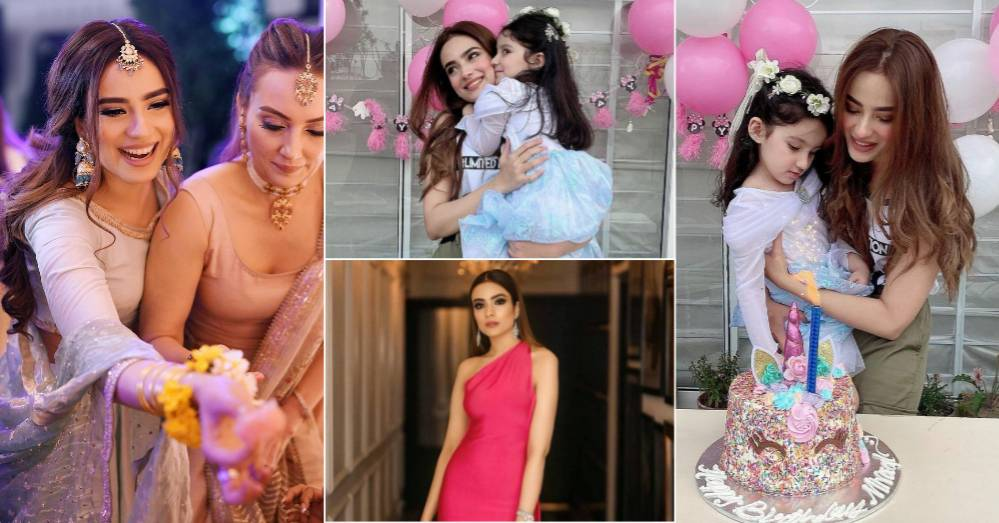 Alyzeh Gabol Shares Birthday Pictures of Her Daughter