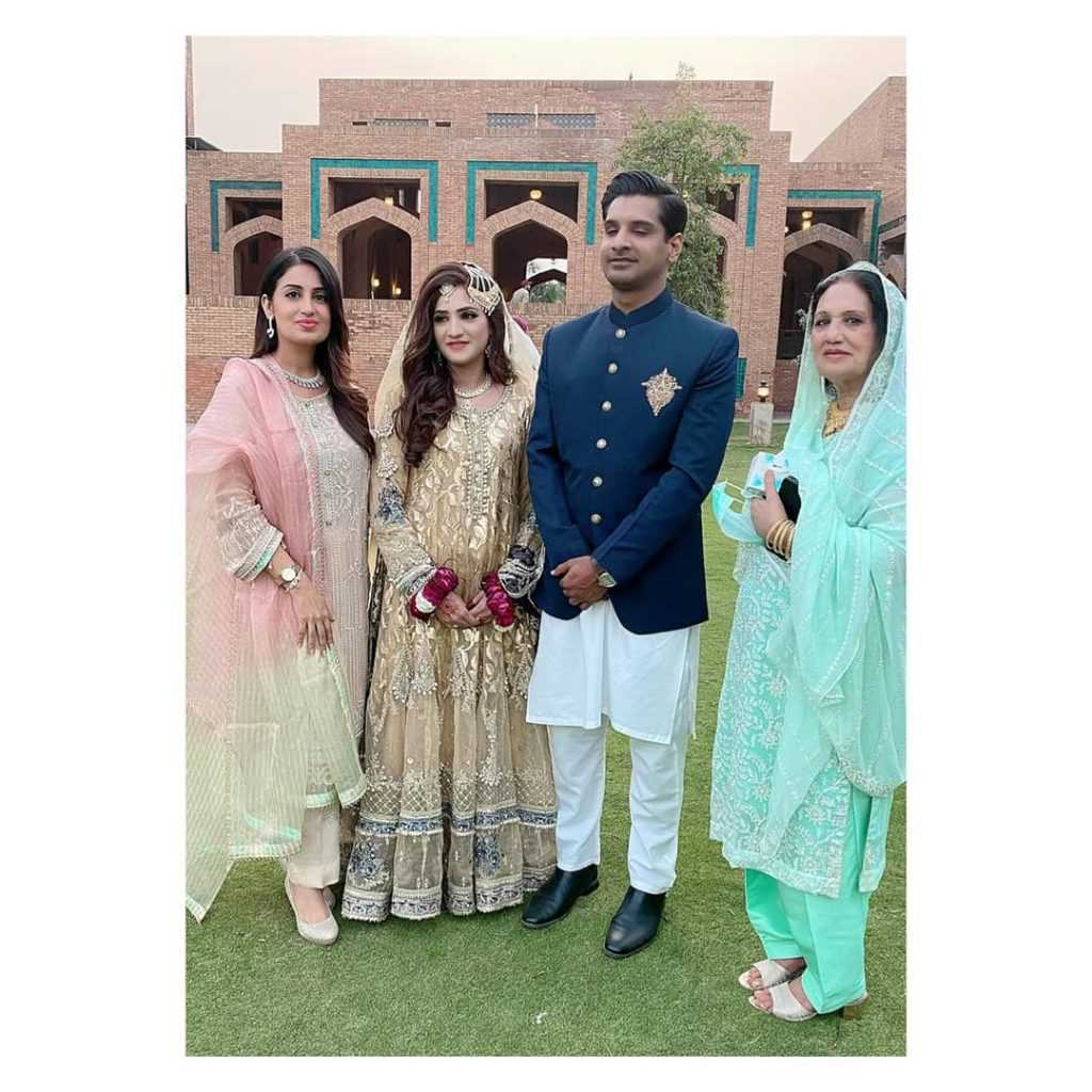 Farah Yousaf sister wedding