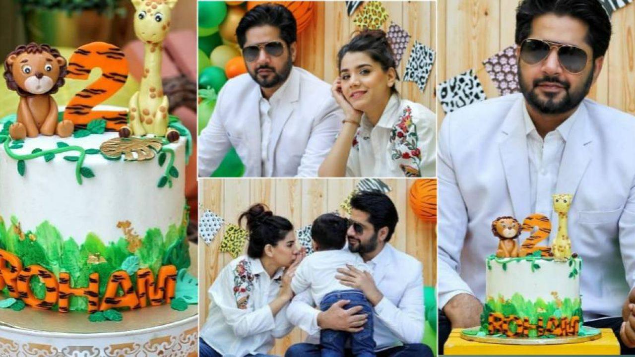 Imran Ashraf and Kiran Ashfaq Celebrated Birthday Of Their Son | Mag  Pakistan