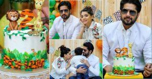 Imran Ashraf and Kiran Ashfaq Celebrated Birthday Of Their Son