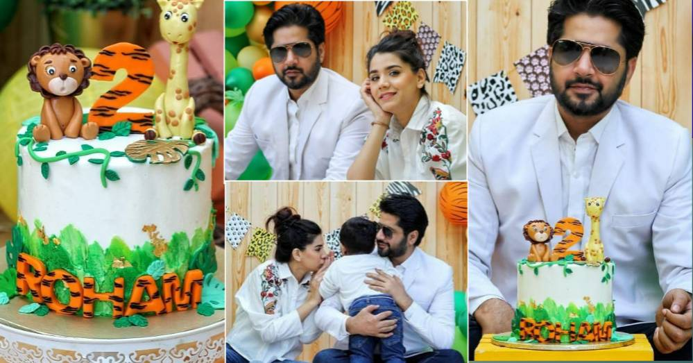 Imran Ashraf and Kiran Ashfaq Celebrated Birthday Of Their Son