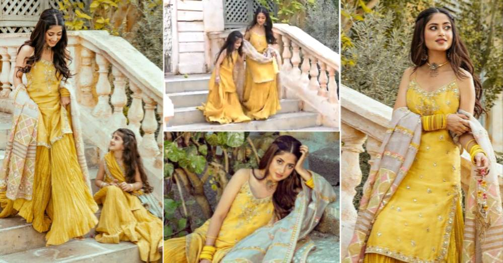 Sajal Aly is Shining in Her New Bridal Photoshoot