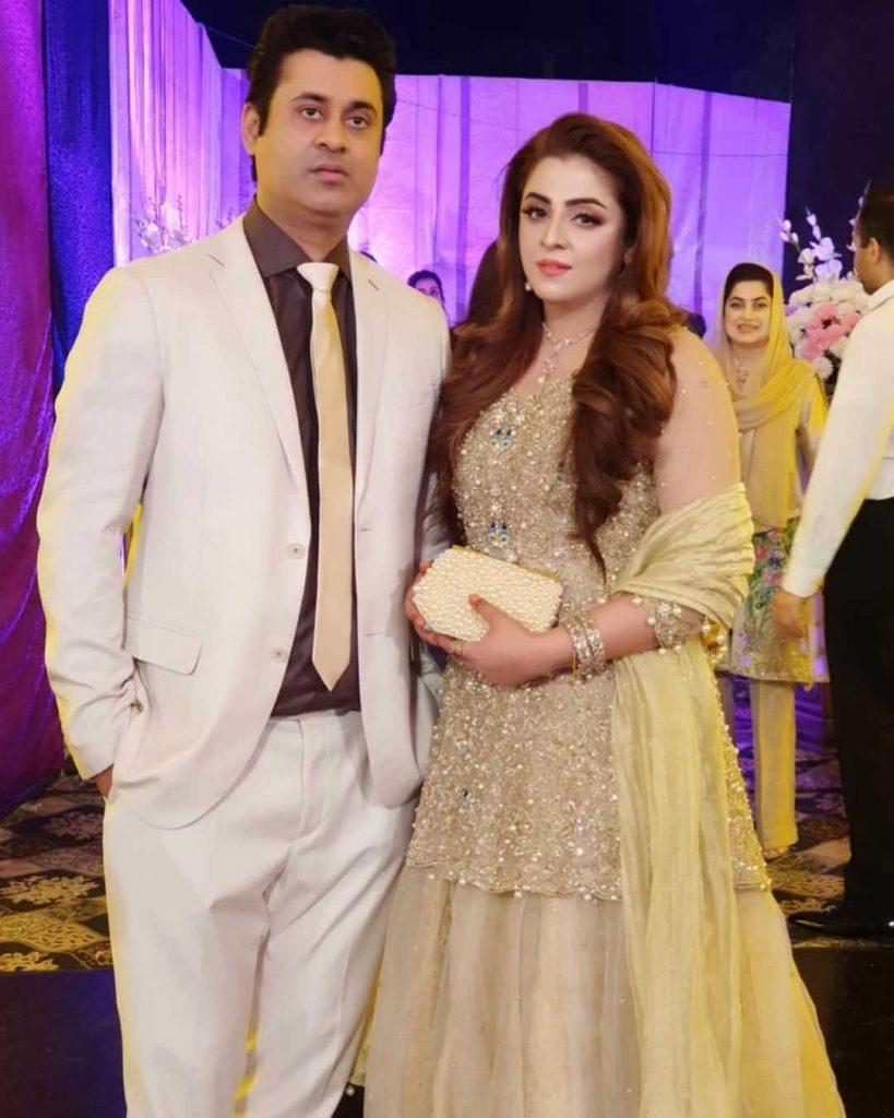 ayesha sohail with her husband