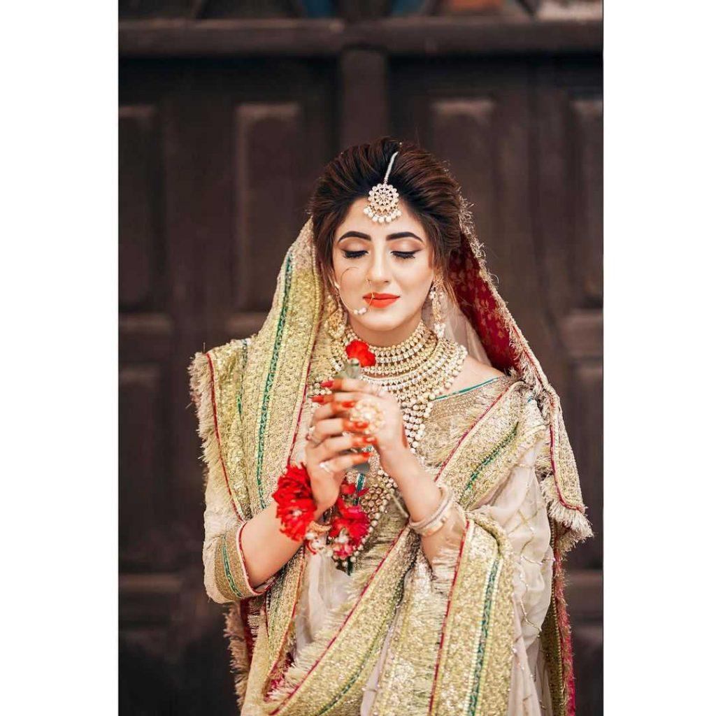 Fatima Sohail Bridal look
