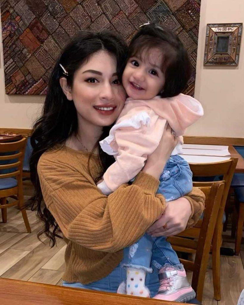 Sidra Batool's elder daughter's name is Alaya Ahsan