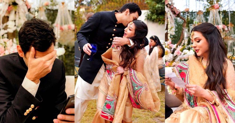 All Wedding Pics of Aisha Linnea Akhtar's Second Marriage
