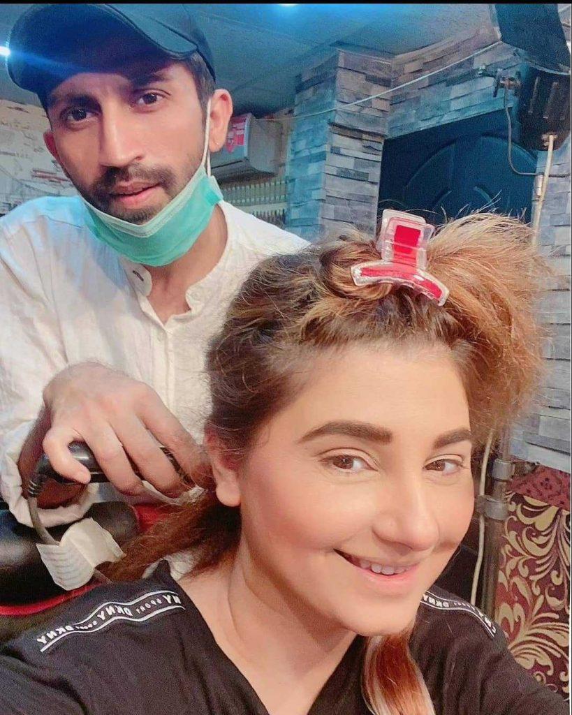 Javeria Saud new hairstyle (7)