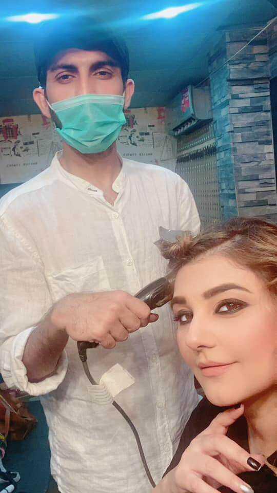 Javeria Saud new hairstyle (9)