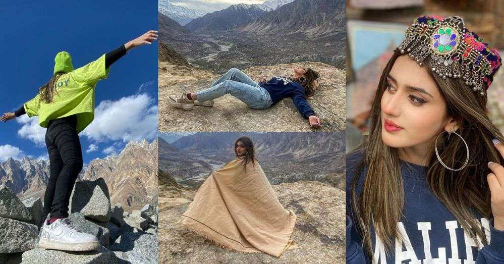 Latest Pics of Jannat Mirza From the Northern Areas of Pakistan