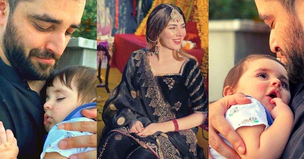 Naimal Khawar Shares Some Cute Snaps of Her Son Muhammad Mustafa Abbasi