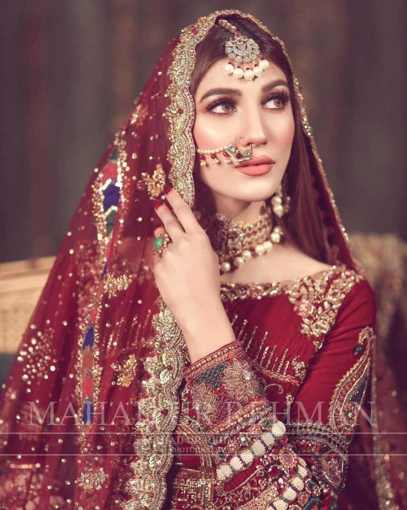 Nazish Jahangir Bridal Photoshoot (1)