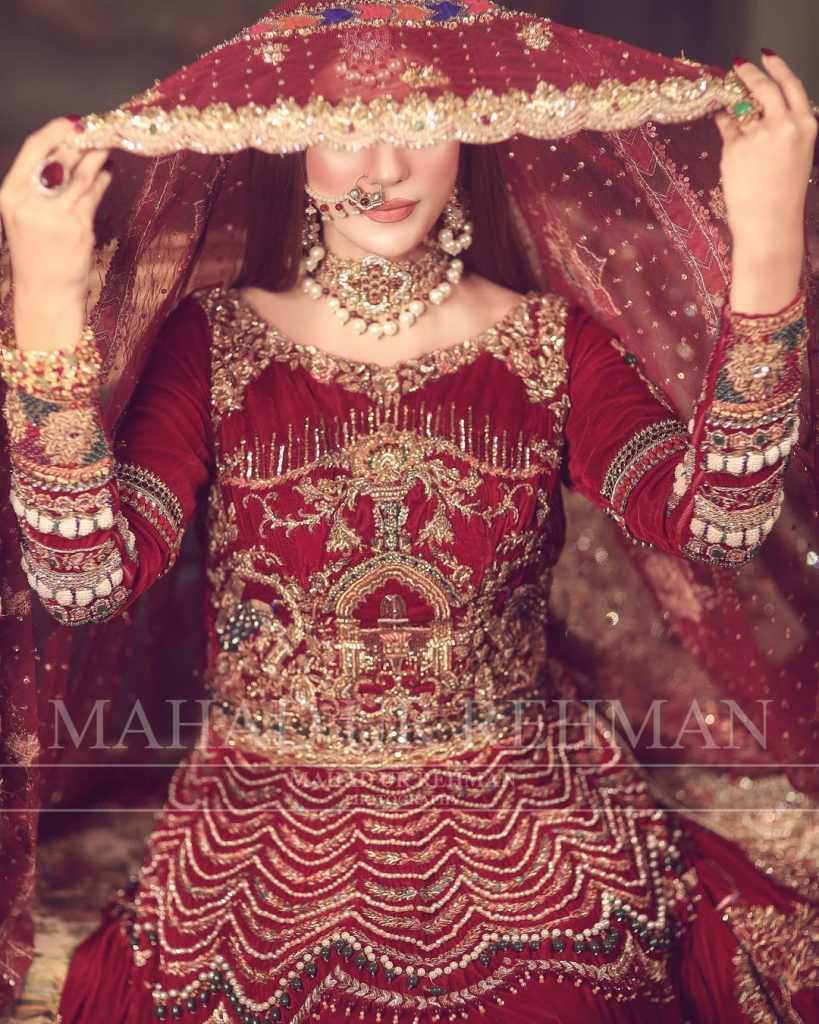 Nazish Jahangir Bridal Photoshoot (11)