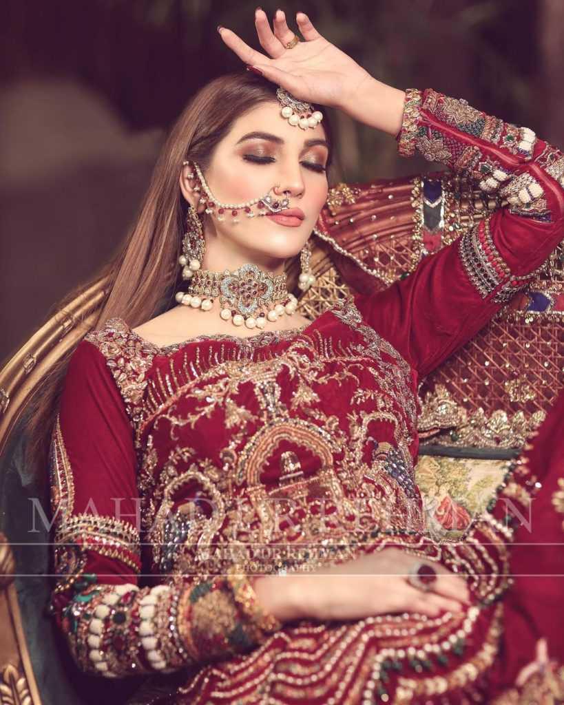 Nazish Jahangir Bridal Photoshoot (13)
