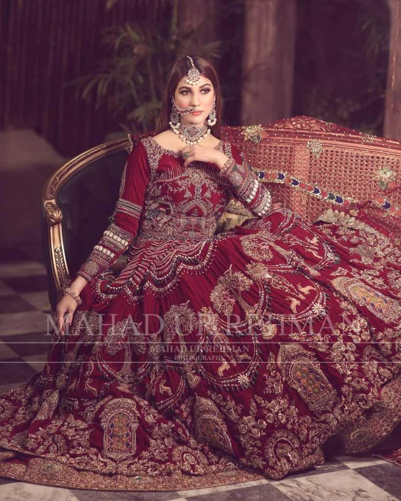 Nazish Jahangir Bridal Photoshoot (16)