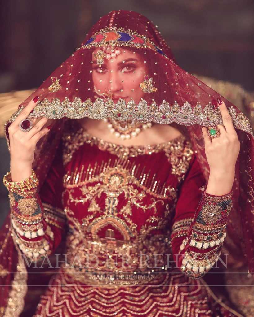 Nazish Jahangir Bridal Photoshoot (9)