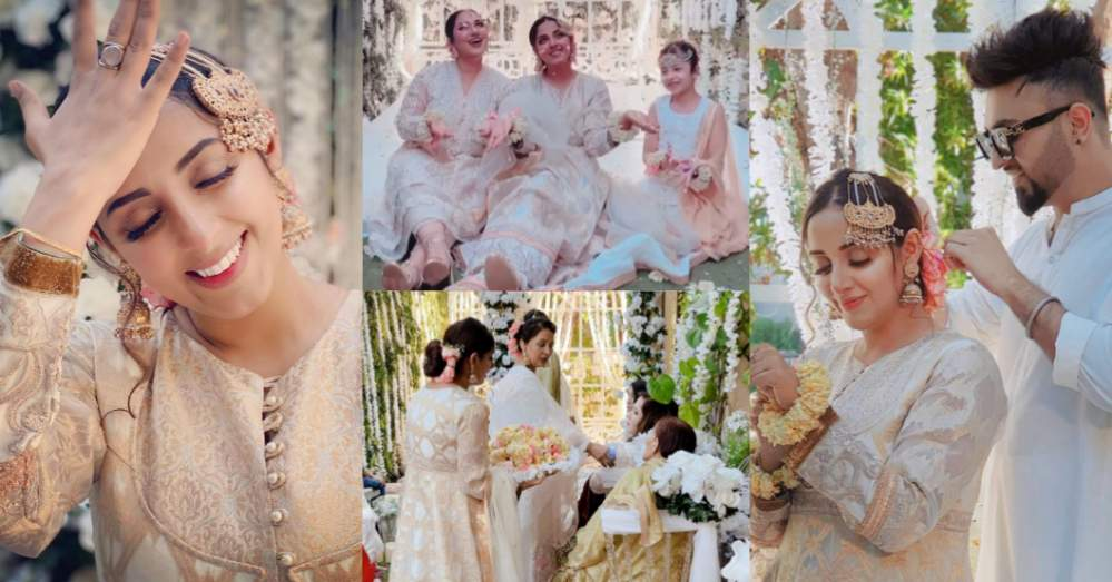 Sanam Chaudhry Looks Fabulous At A Family Wedding
