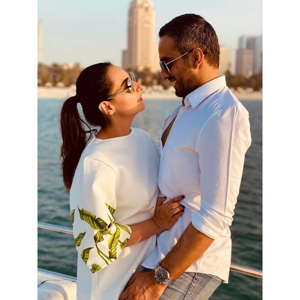 momal sheikh with her husband nadir