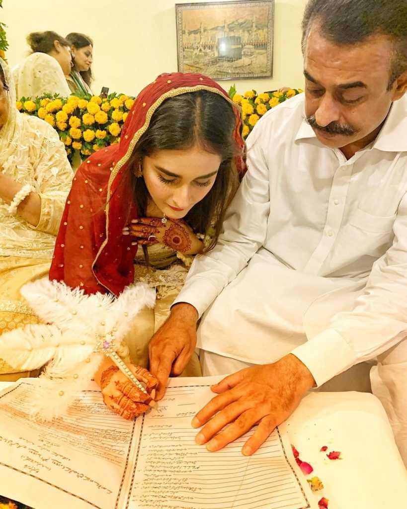 shehzeen rahat wedding pics