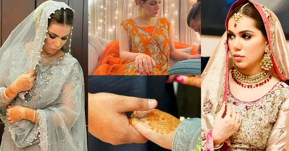All Beautiful Nikkah Pictures of Ghana Ali with Her Husband