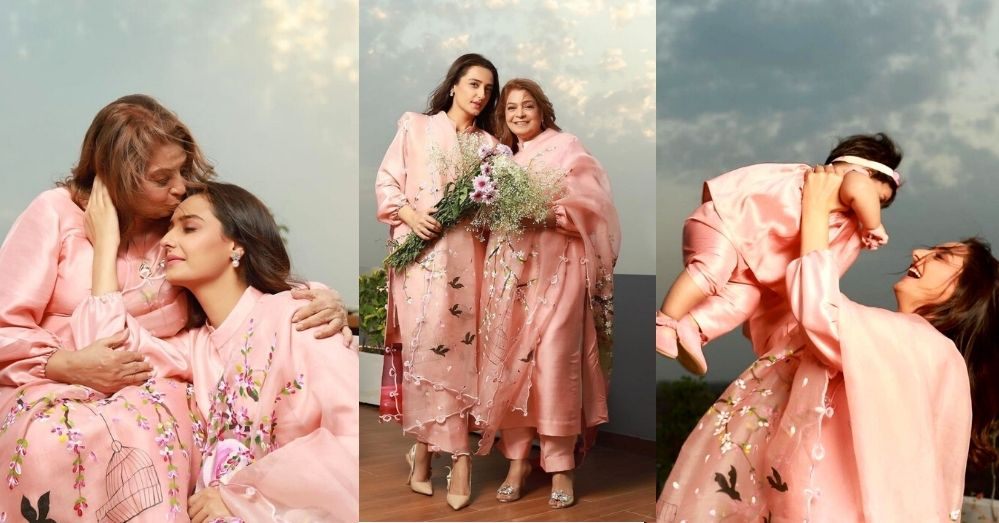 Beautiful Pics of Momal Sheikh With Her Mother And Daughter