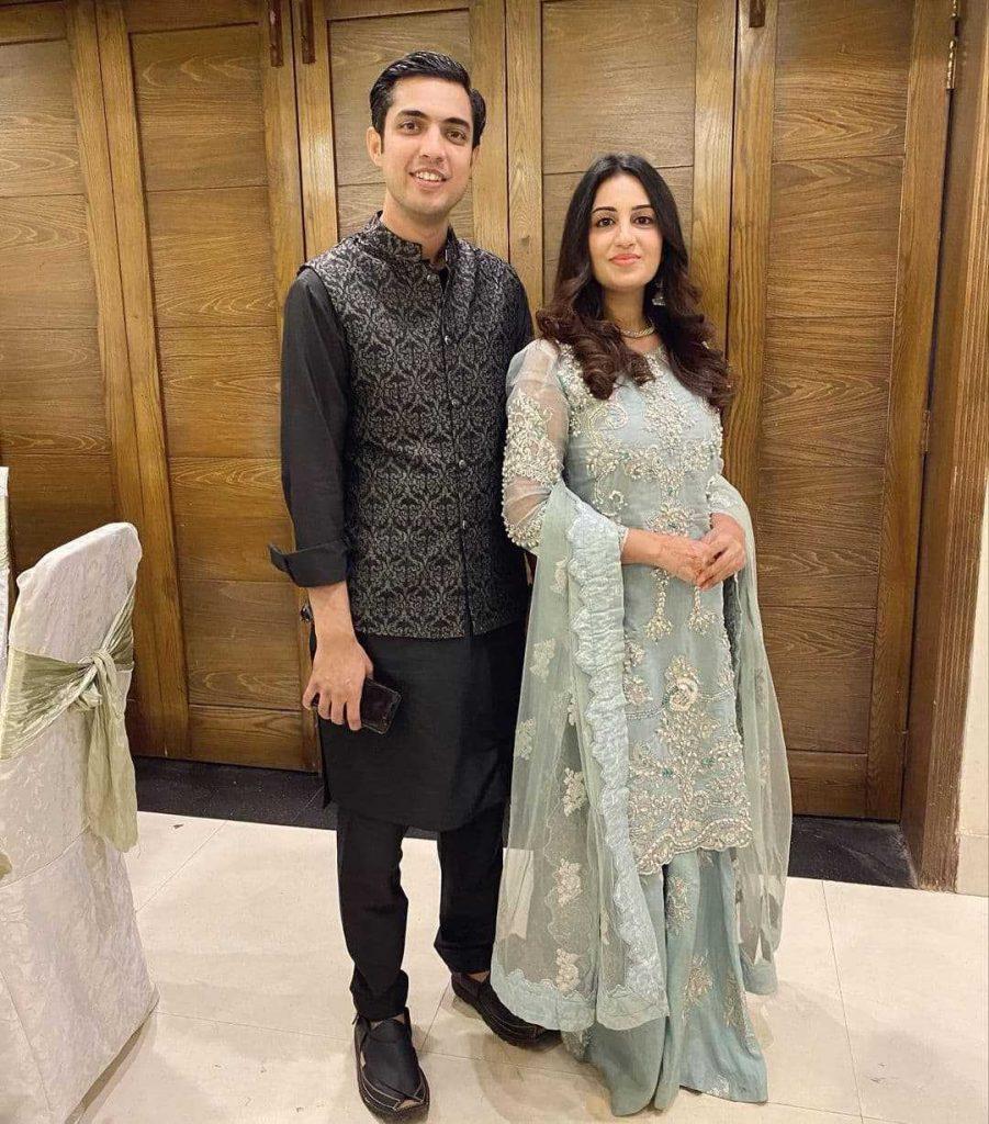 Farah Yousaf And Iqrar Ul Hassan Celebrate Their Wedding Anniversary (1)