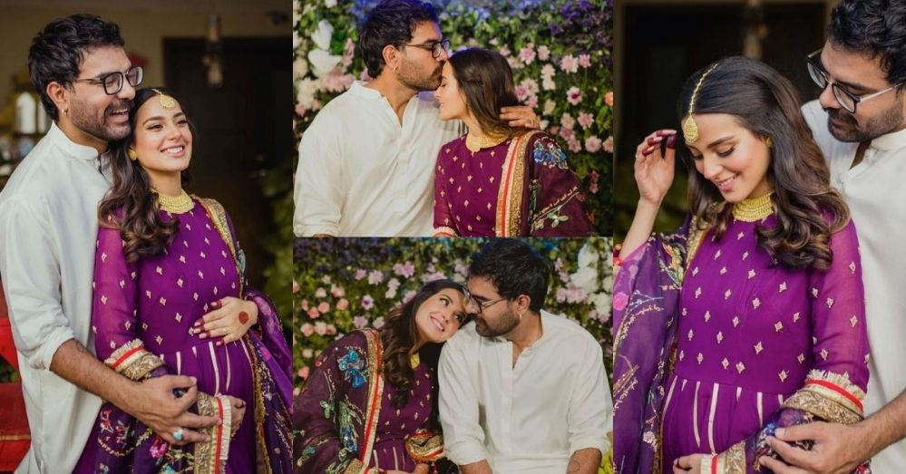 Iqra Aziz Baby Shower Pics Went Viral Over The Internet