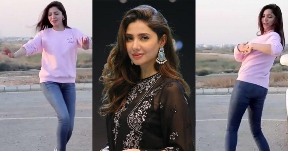 Mahira Khan Dance Video Went Viral Over The Internet
