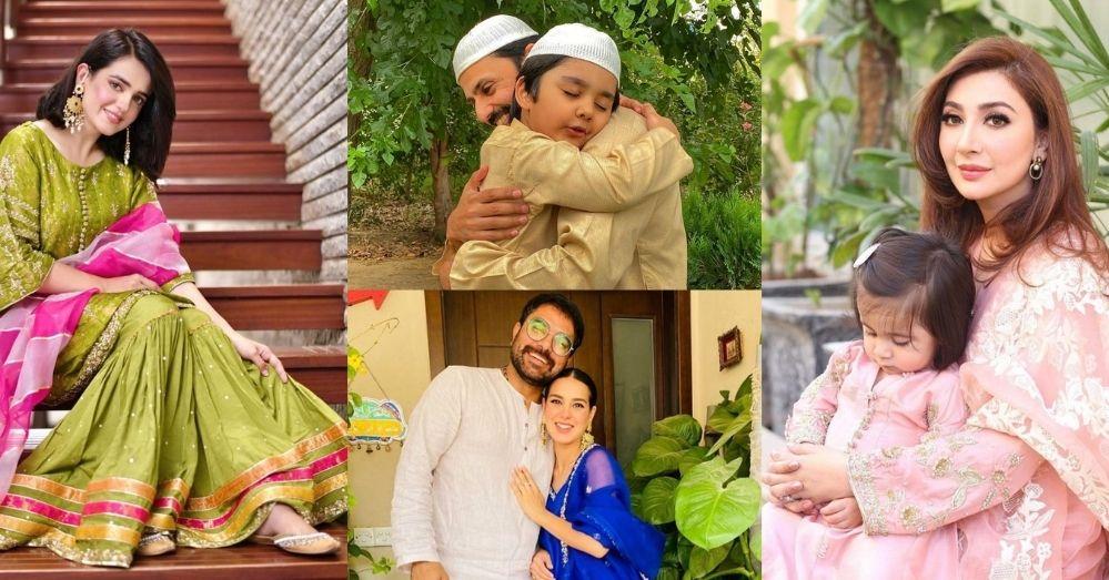 Pakistani Actresses Eid Pics