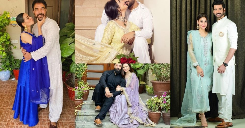 Top 5 Best Dressed Pakistani Celebrity Couples on This Eid