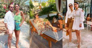 Alyzeh Gabol Enjoying Beach Party With Friends At Dubai